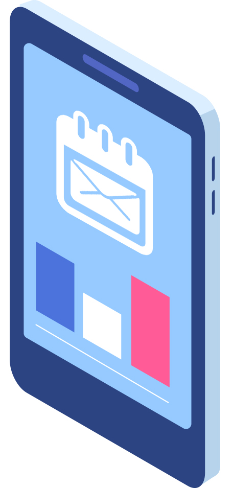phone cartoon graphic
