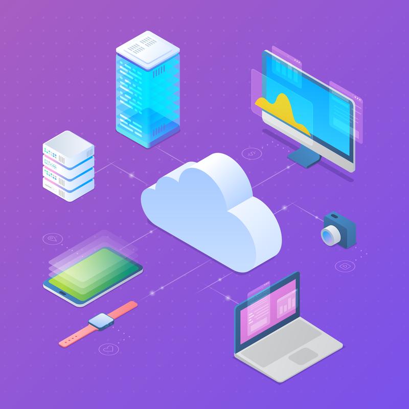 cloud services graphic