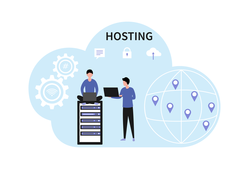 hosting it image