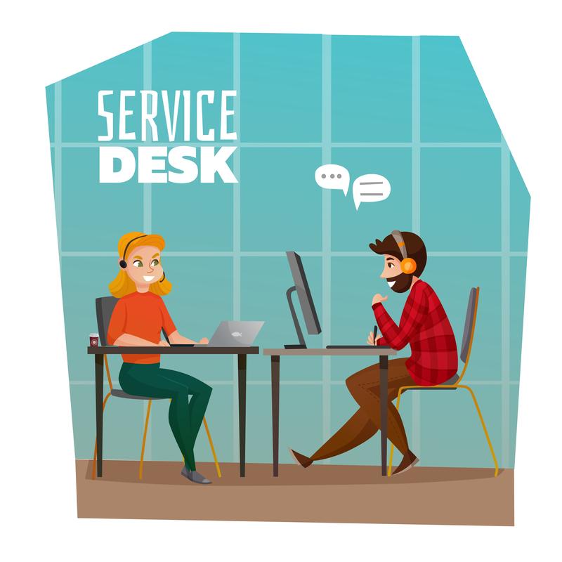 service desk graphic