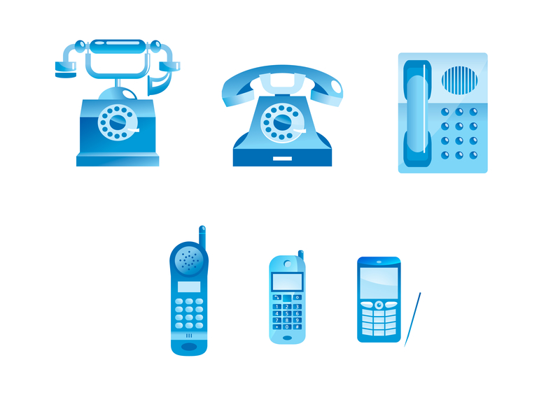 telephones over the years image