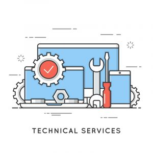 IT Technical Services Graphic